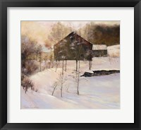 Framed Winter Peace