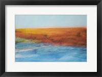 Framed Sea and Red Land