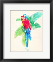 Framed Tropical Party