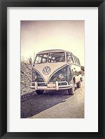 Framed Surfers' Vintage VW Bus
