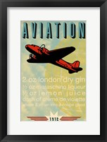 Framed Aviation Recipe