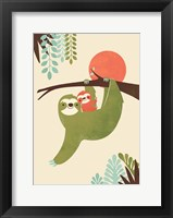 Framed Mama Sloth