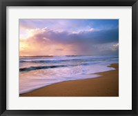 Framed Pacific Storm