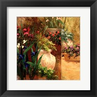Framed Flower Pots Right