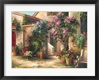 Framed Garden Courtyard
