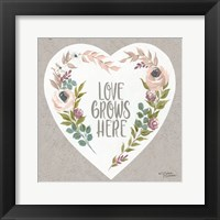 Framed Love Grows Here