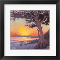 Framed Carmel Beach