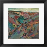 Framed Rolling Hills