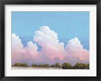 Framed River & Sky Meet The Clouds