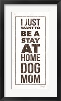 Framed Dog Mom