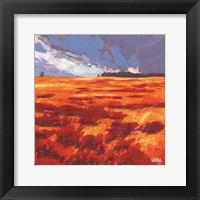 Framed Autumn Storm