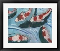 Framed Koi Pond