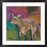 Framed Little Fox