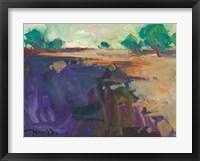 Framed Abstract Landscape