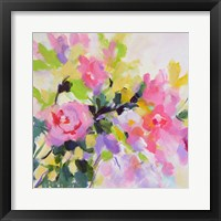 Framed Wild Rose Garden