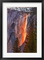 Framed Horsetail Fall