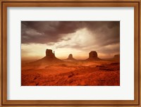 Framed Monsoon Sandstorm