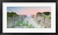 Framed Crescent Beach Path