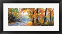 Framed Autumn Backlight