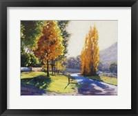 Framed Autumn Light