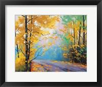 Framed Misty Autumn Day