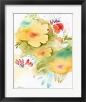 Framed Fiesta Flowers