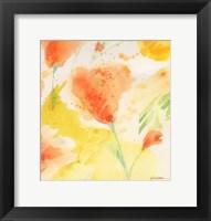 Framed Windblown Poppies #3