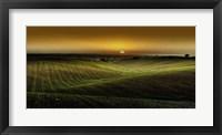 Framed Alentejo Sunset