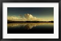 Framed Cloud Reflection