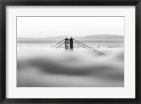 Framed Across the Bay (BW)