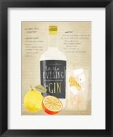 Framed Ginger Gin Sparkler