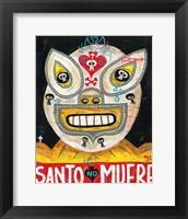 Framed Santo