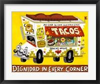 Framed Taco Truck