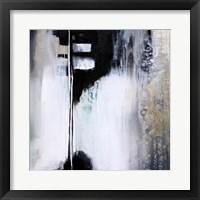 Framed Black and White Drama