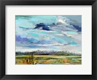 Framed Marsh Skies