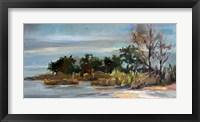 Framed Winter Beach