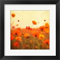 Framed Orange Happiness