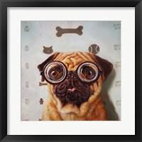 Framed Canine Eye Exam