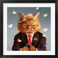 Framed Catty Remarks
