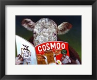 Framed Cow Tips