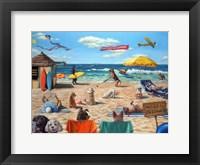 Framed Dog Beach