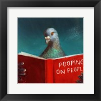Framed Pooping on People