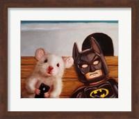 Framed Selfie with Batman