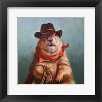 Framed Underground Cowboy