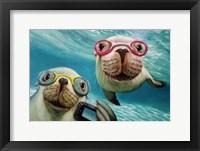 Framed Underwater Selfie
