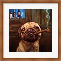 Framed Uptown Pug