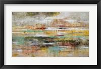 Framed Oasis Reflection