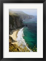 Framed Big Sur Coast