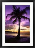 Framed Brasalito Bay, Costa Rica