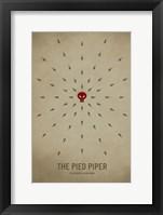 Framed Pied Piper